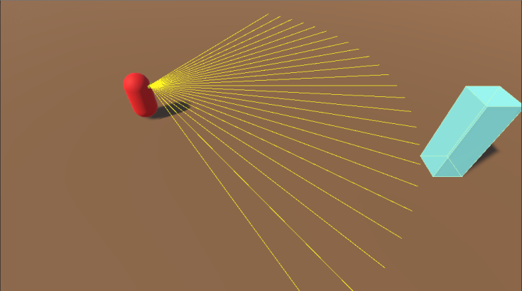 Field-of-view Raycast