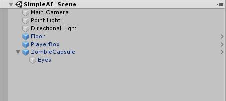 Simple Detection Scene